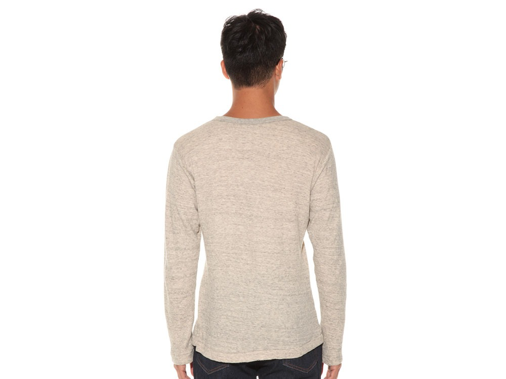 Ultimate Pima Double Knit Long Sleeve S M.Grey4