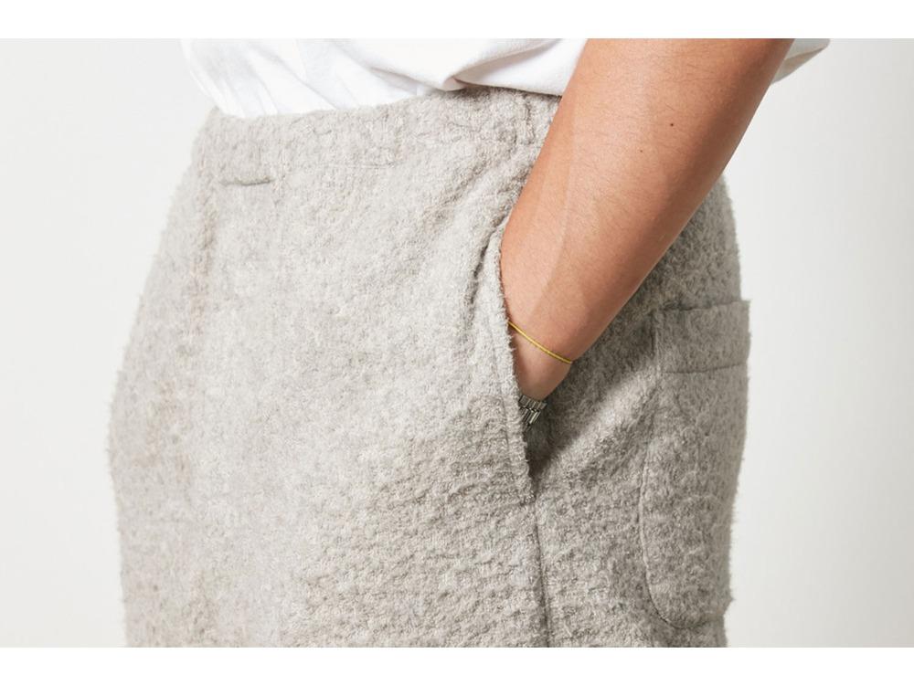 Yak Pile Pants M Natural