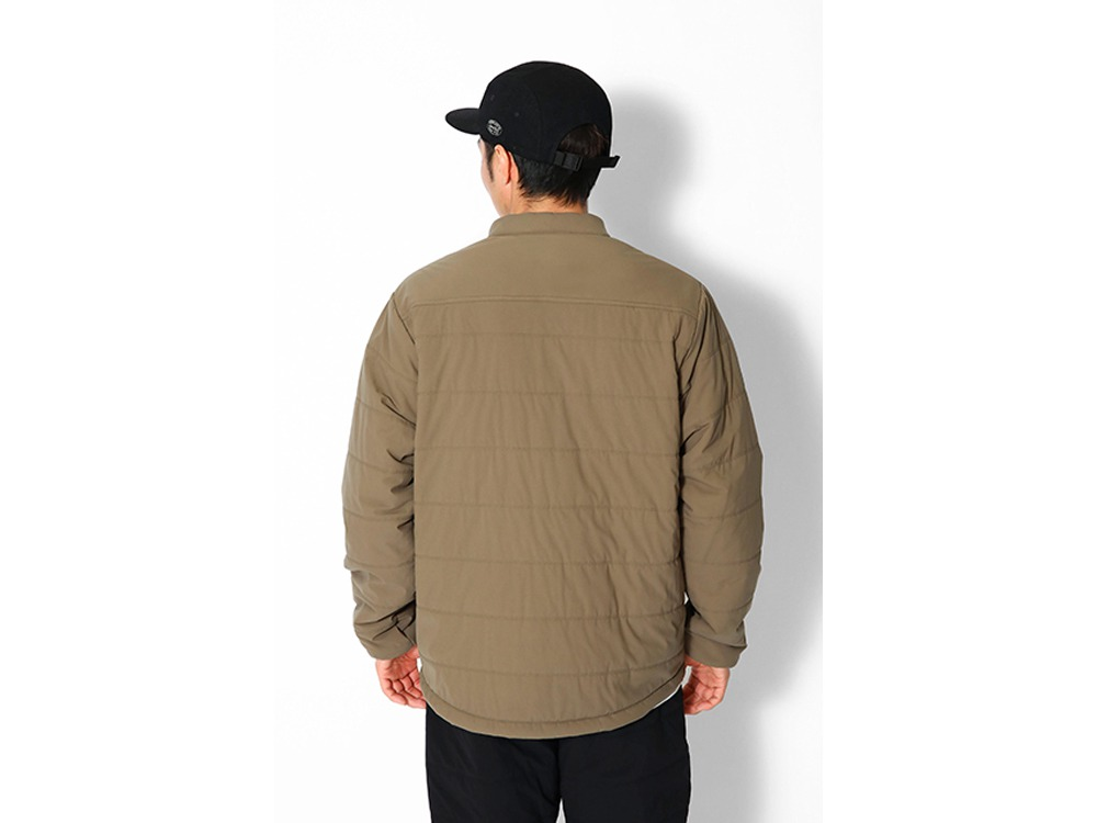 Flexible Insulated Henley Pullover L BR