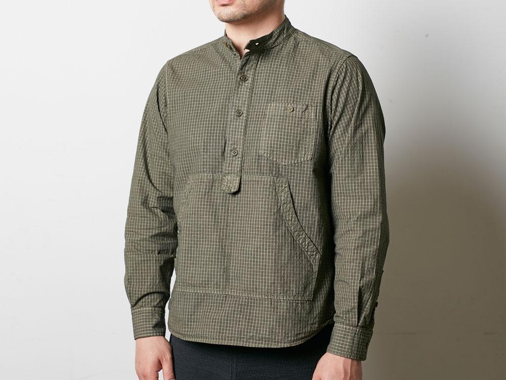 Organic Rip Stop Shirt S Ecru5