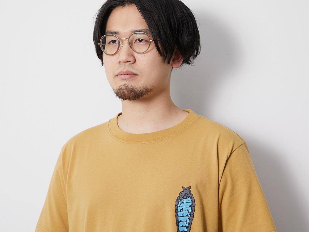 Printed Tshirt Bacoo M Greykhaki