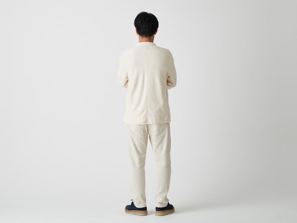 C/L Striped Anorak S Ecru3