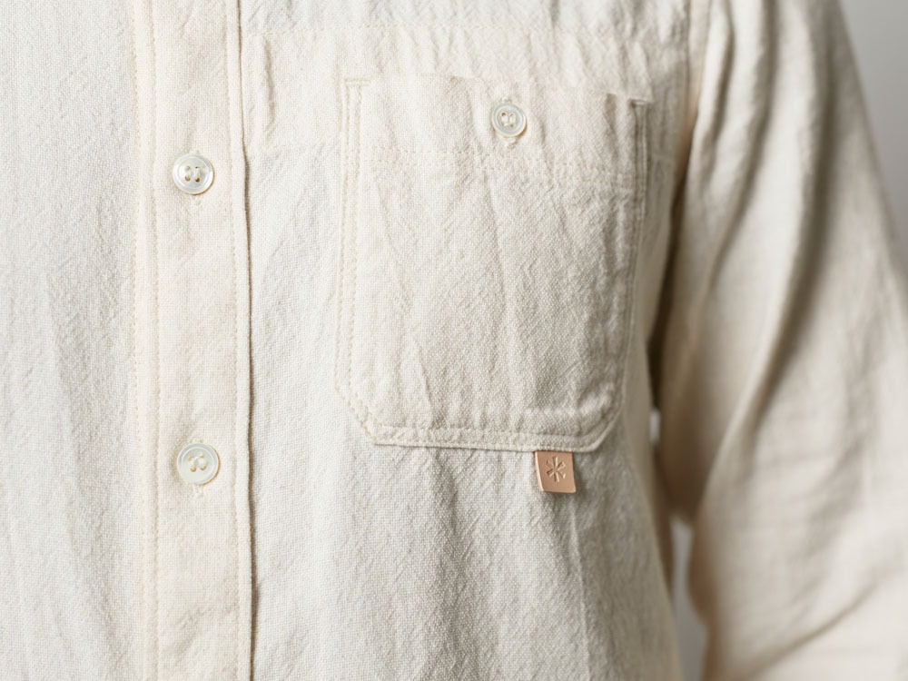 Organic OX Shirt L Blue6