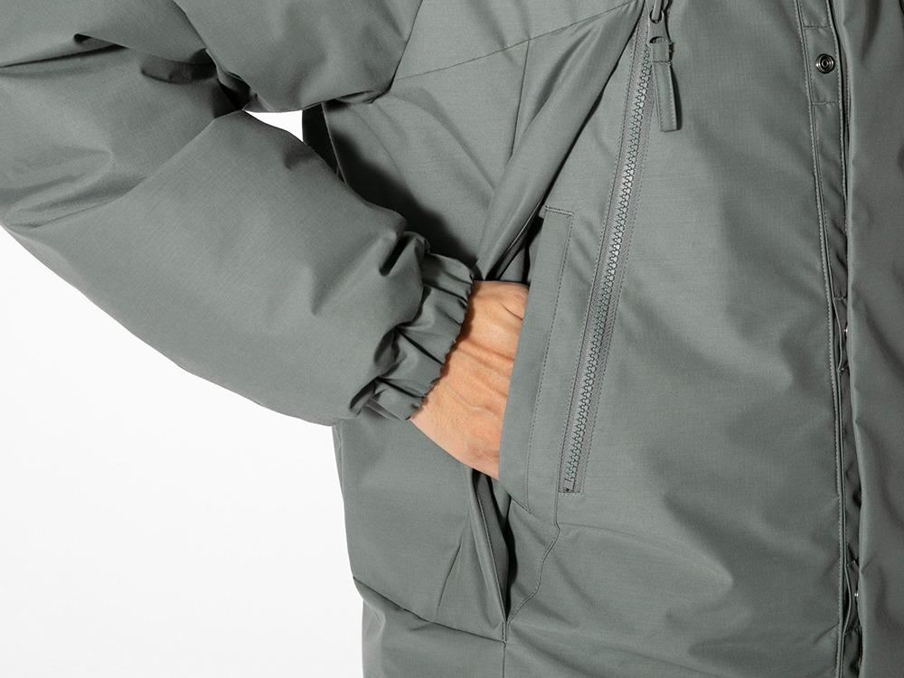 FR 2L Down Jacket M Greykhaki