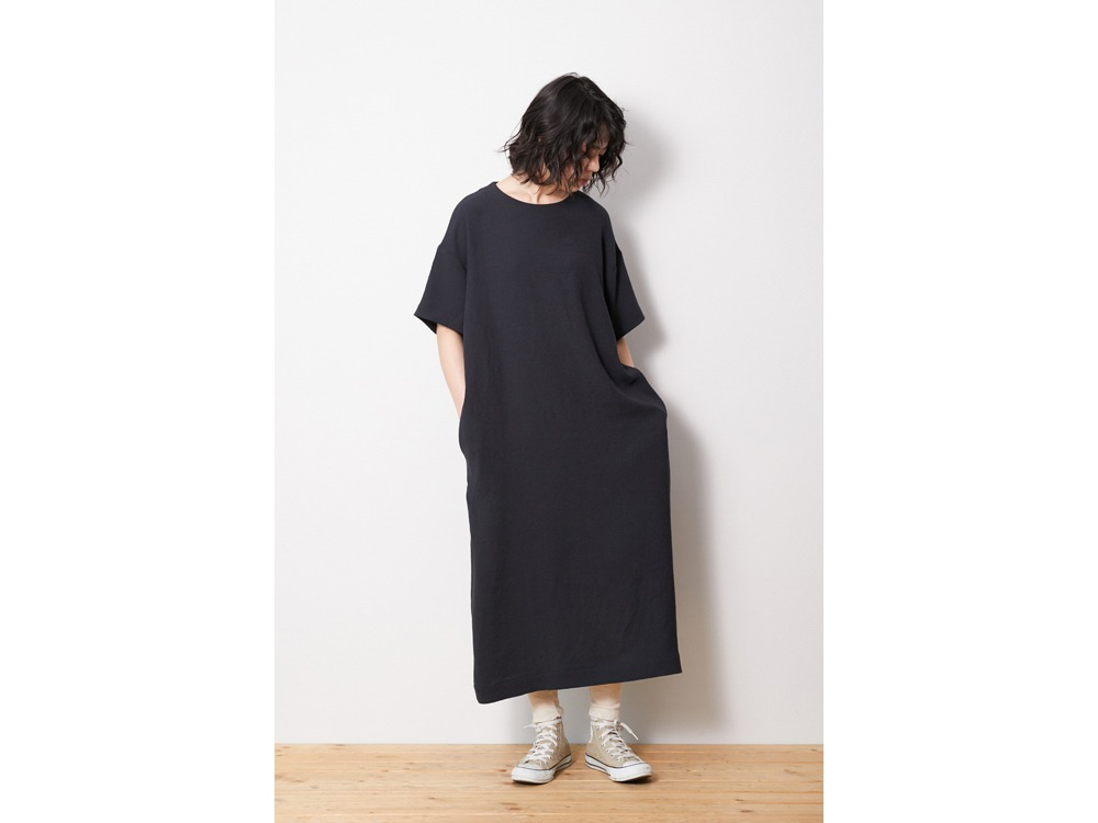 Quick Dry Crepe Weave Soft Dress 2 OL