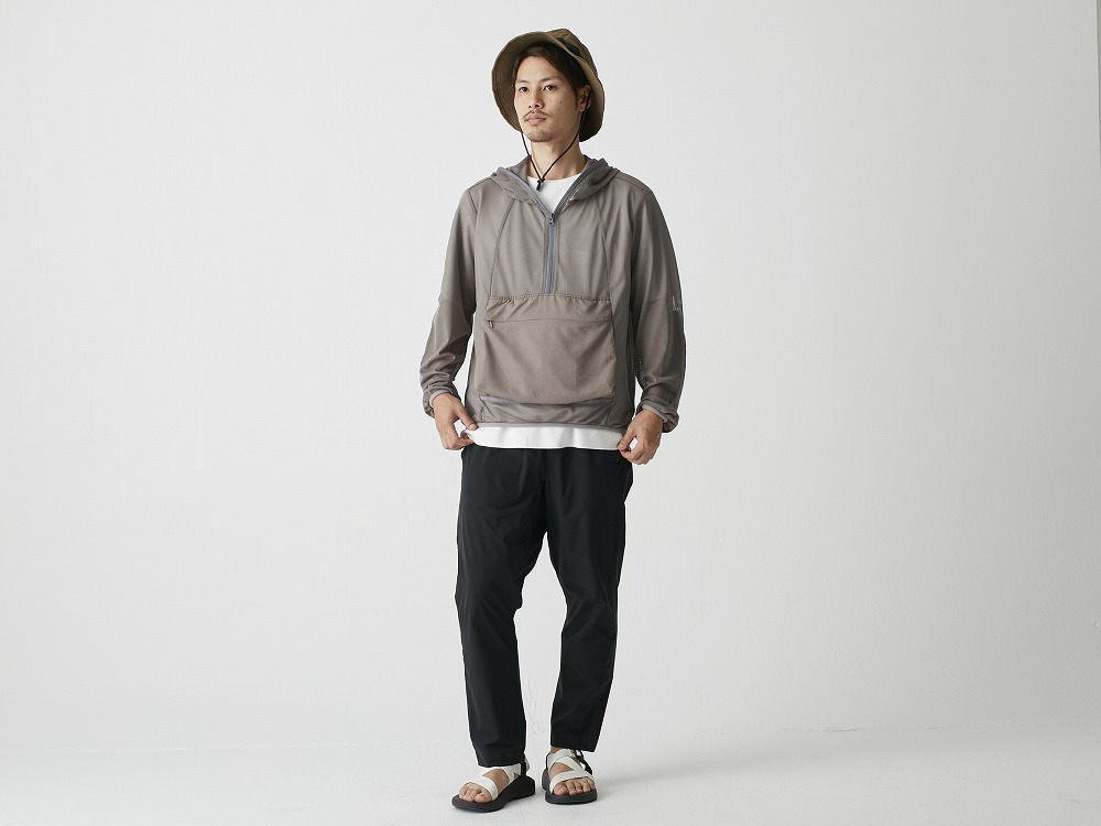 Insect Shield Parka L Grey1