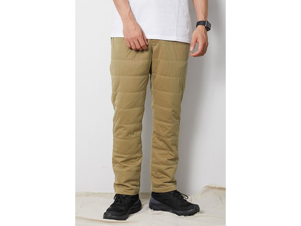 Flexible Insulated Pants S Beige
