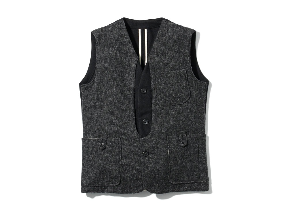 Camping Wool Vest XL Black0