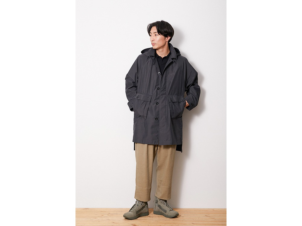 FR Over Coat M Grey