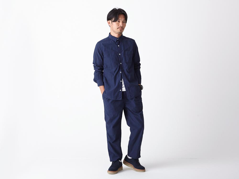 Organic Typewriter Pants 1 Navy1