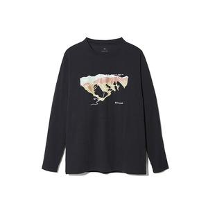 Printed L/S Tshirt Tanigawa
