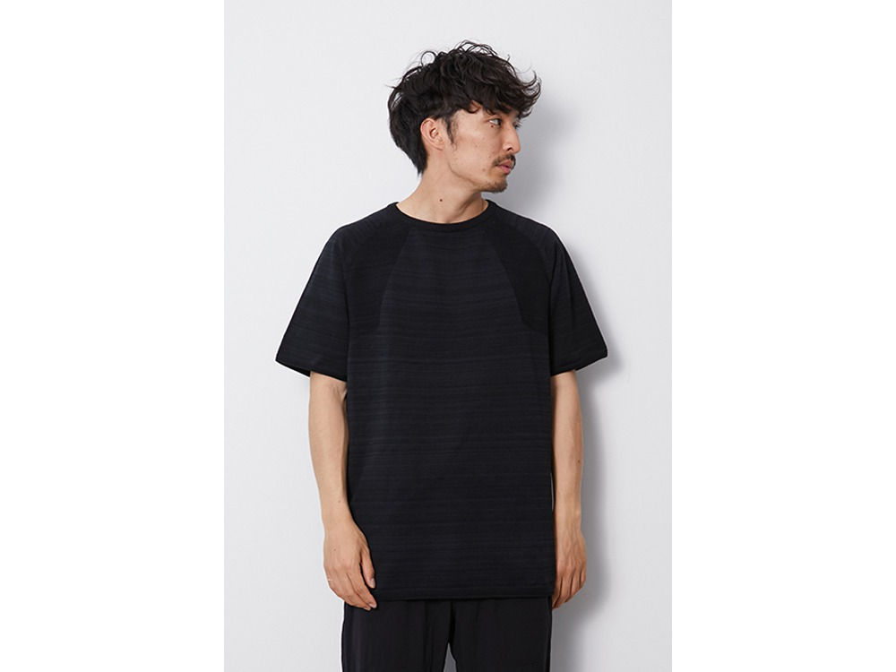 WG Stretch Knit Tshirt M Black