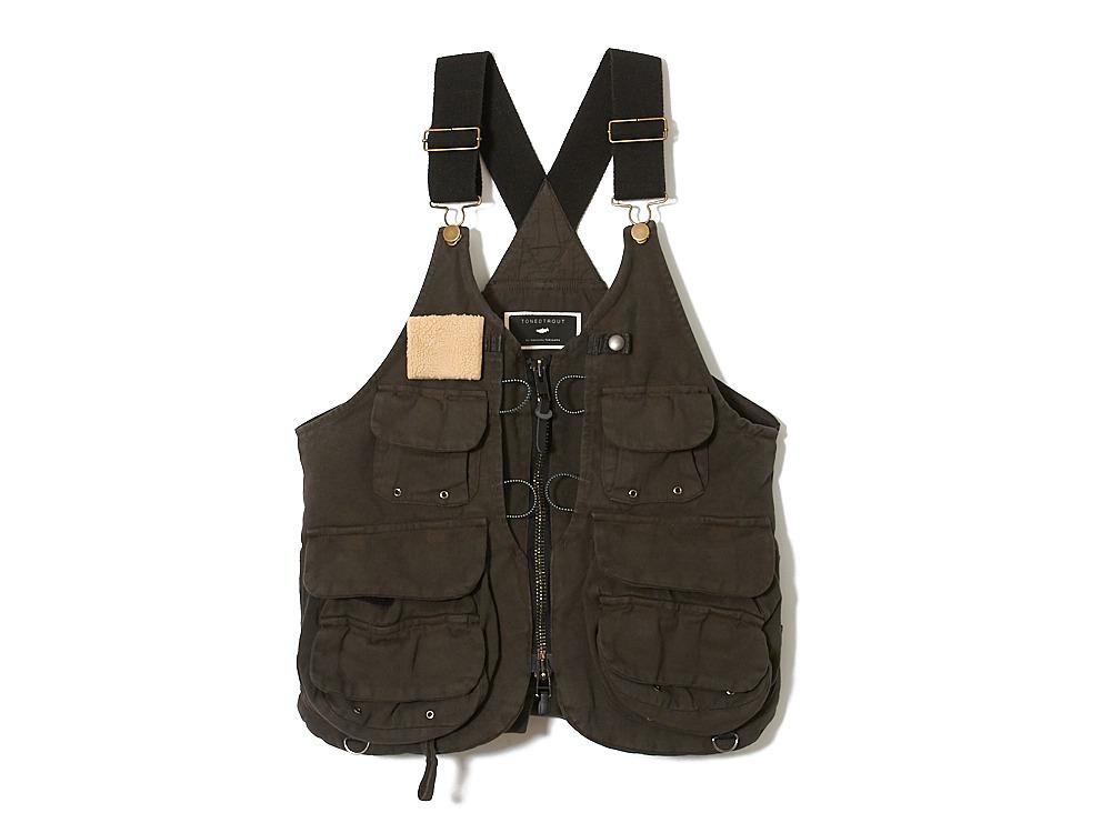 Field Fishing Vest L Grey