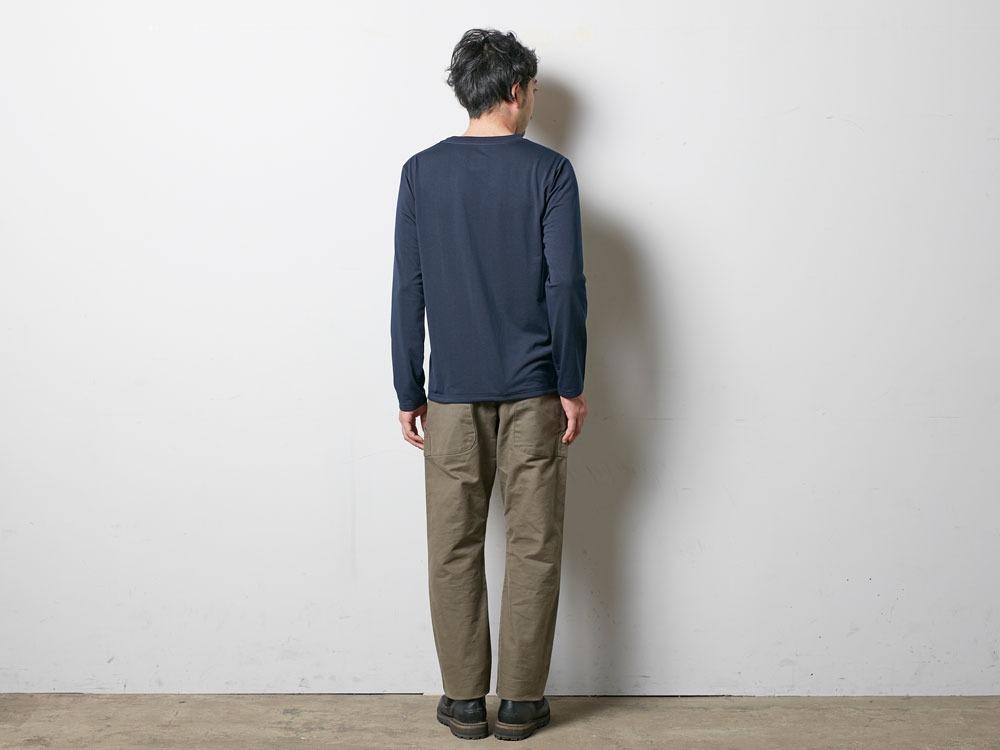 Campfield Long Tshirt M Melange Grey3