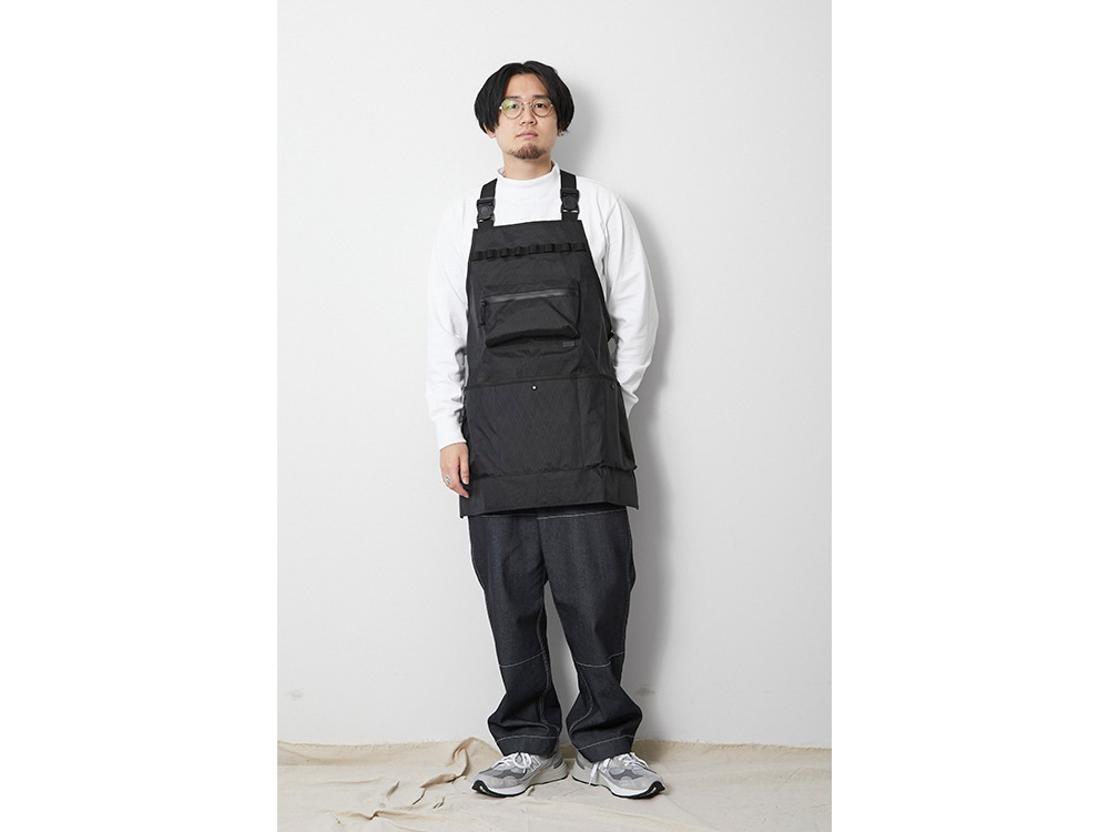 X-Pac Nylon Apron One Black