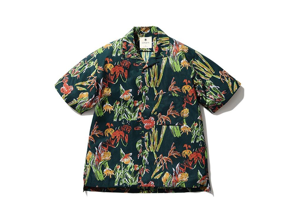 Printed Quick Dry Shirt M Green
