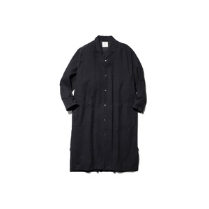 Organic Cotton Suede Long Shirt