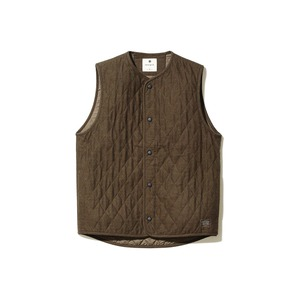Quilted Flannel Vest