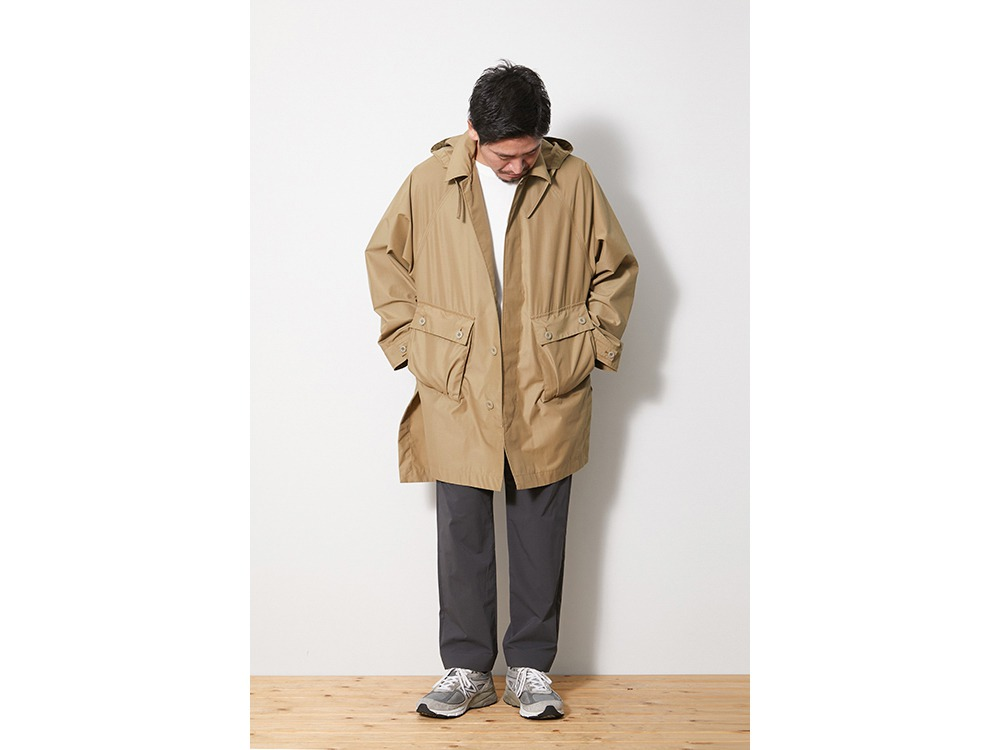 FR Over Coat S Beige