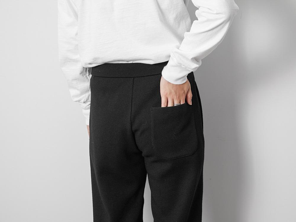 Li/W/Pe Pants Wide S Grey