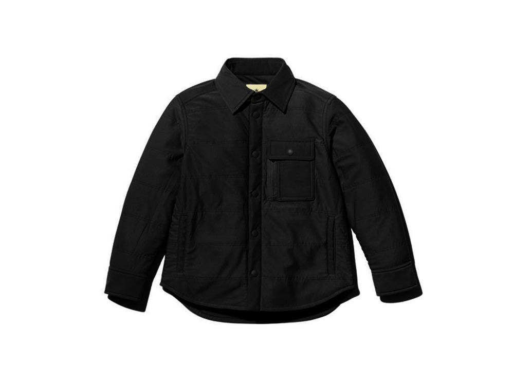 Kids Flexible Insulated Shirt 1 Black
