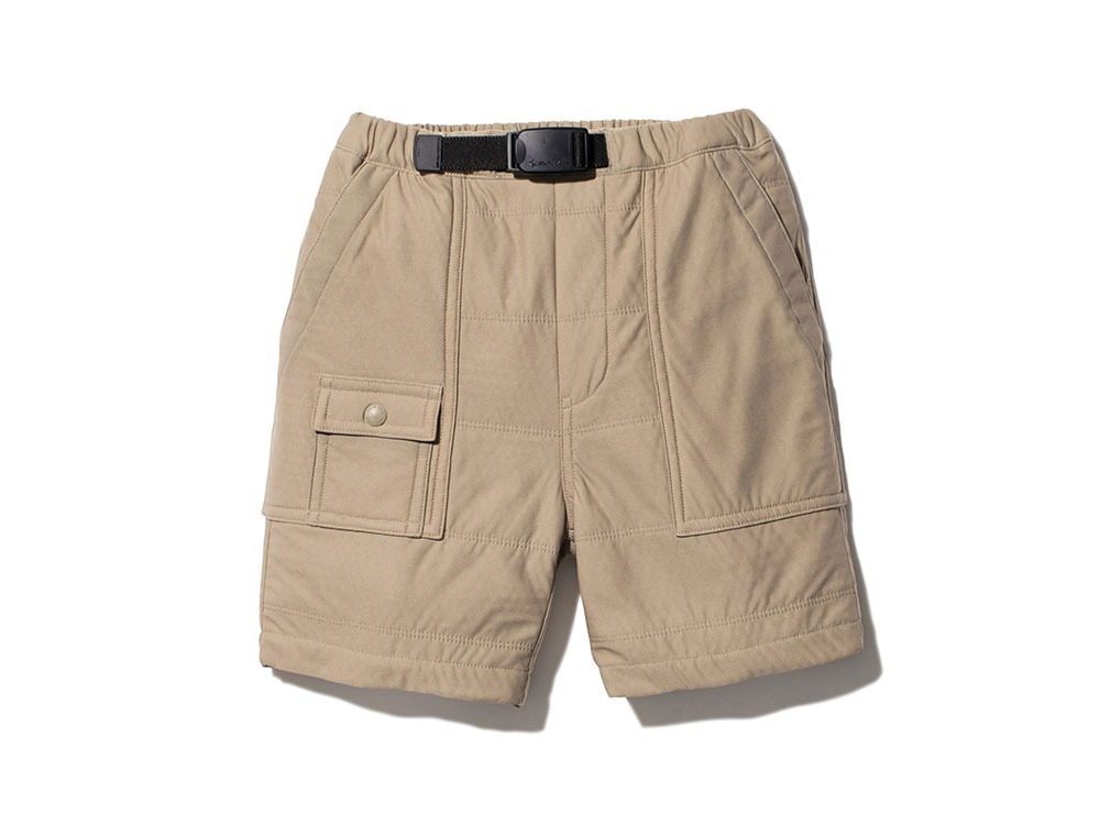 Kids Flexible Insulated Shorts 1 Beige