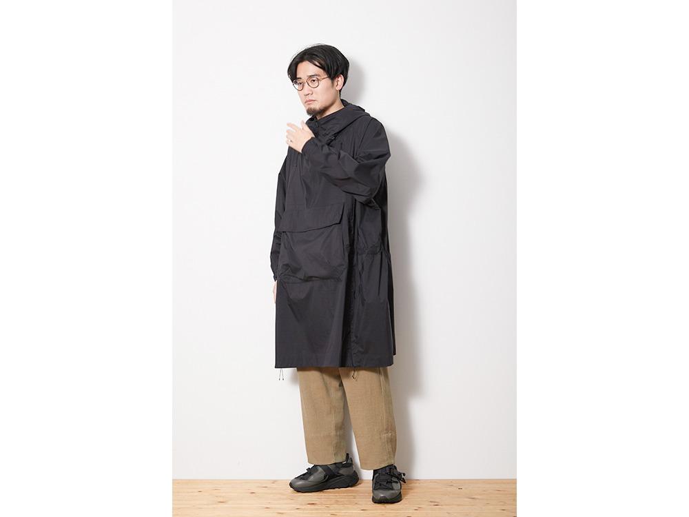 Rain&Wind Resistant Poncho 2 Black