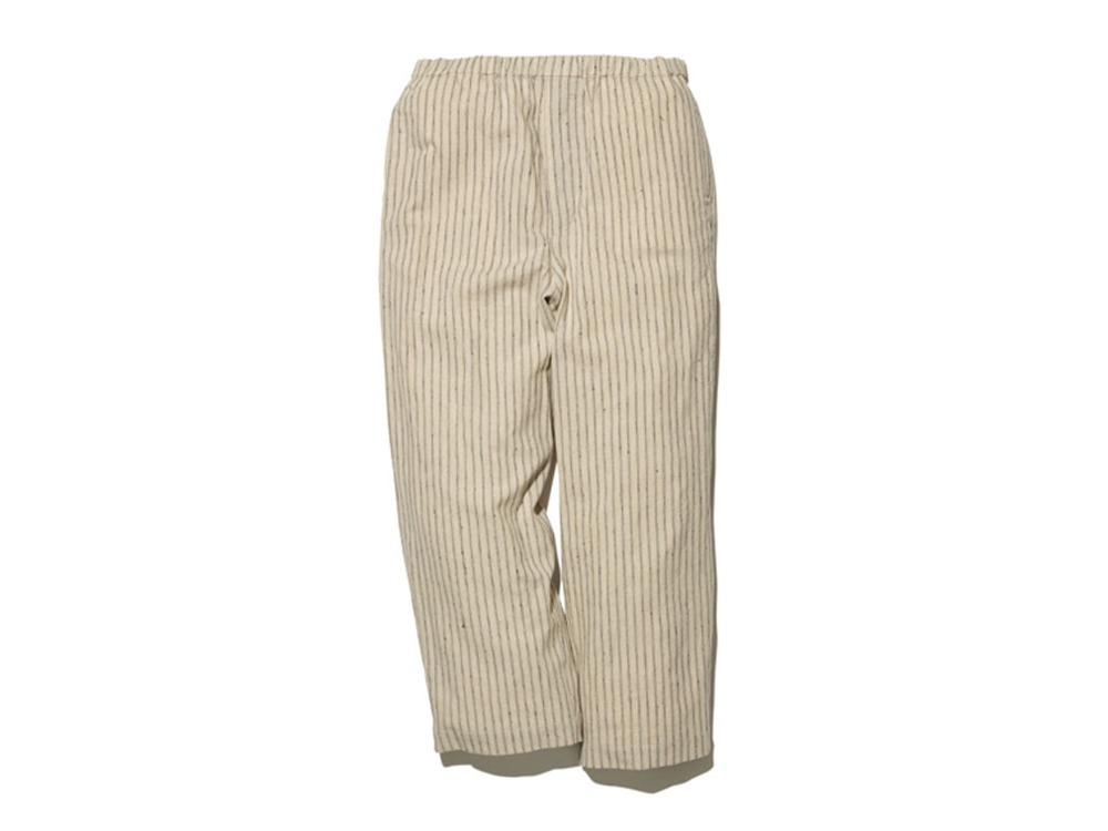 C/L Stripe Pants 1 Ecru