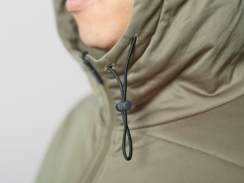 Flexible Insulated Hoodie M Olive7