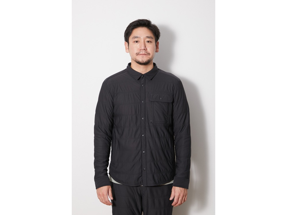 Flexible Insulated Shirt S Black