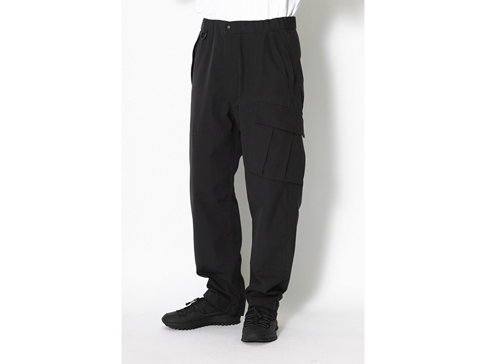 TAKIBI Over Pants L Black