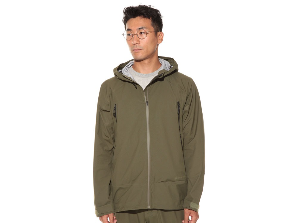 3L Light Shell Jacket M Olive2