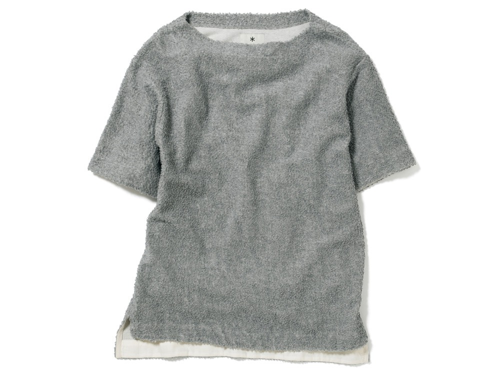 Long Loop Sweat T-Shirt 1 Grey0