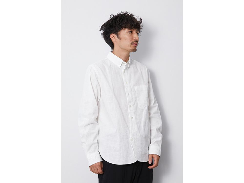 OG Cotton Poplin BD Shirt M White