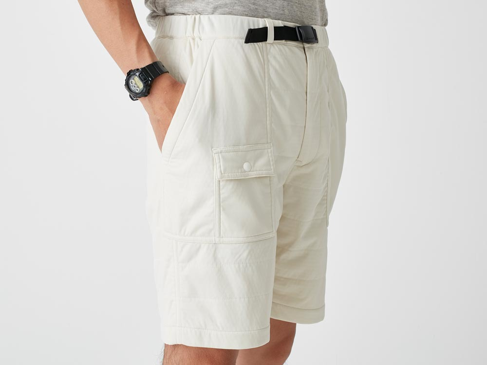 FlexibleInsulated Shorts 2 White5