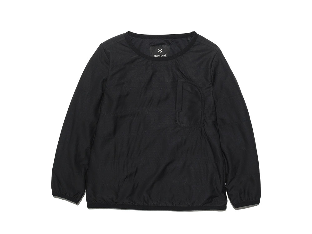Kids Flexible Insulated Pullover 4 Black0
