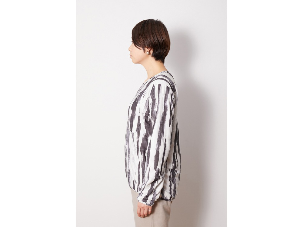 Printed Flexible Insulated Pullover M EN