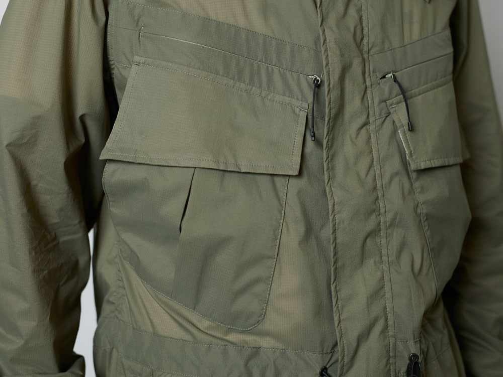 Rain&WindResistantJacket L Olive7