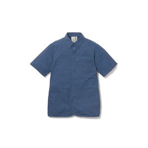 現代のワークシャツS/S  M/S Blue