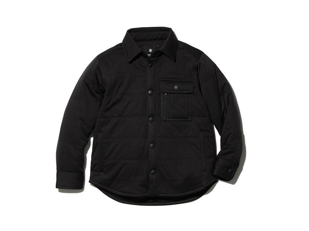 キッズフレキシブルインサレーション シャツ 2 ブラック