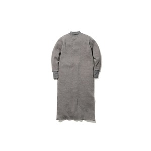 Wool Linen/Pe Dress 1 Grey