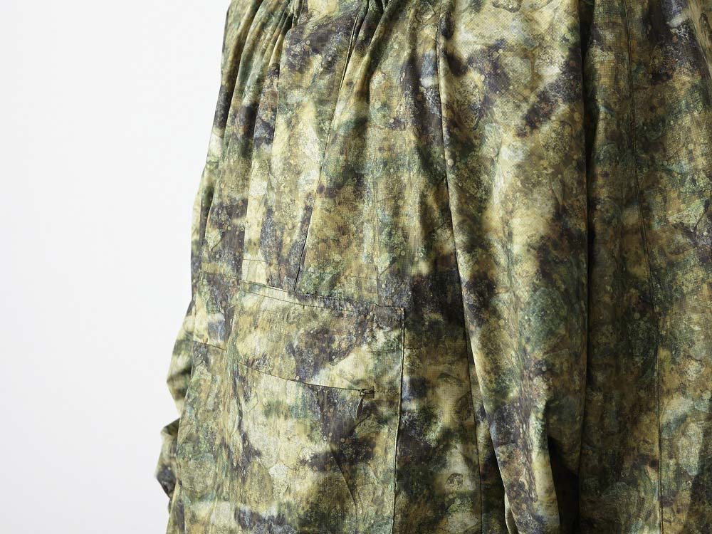 Printed Poncho:CAMO 2 Green9