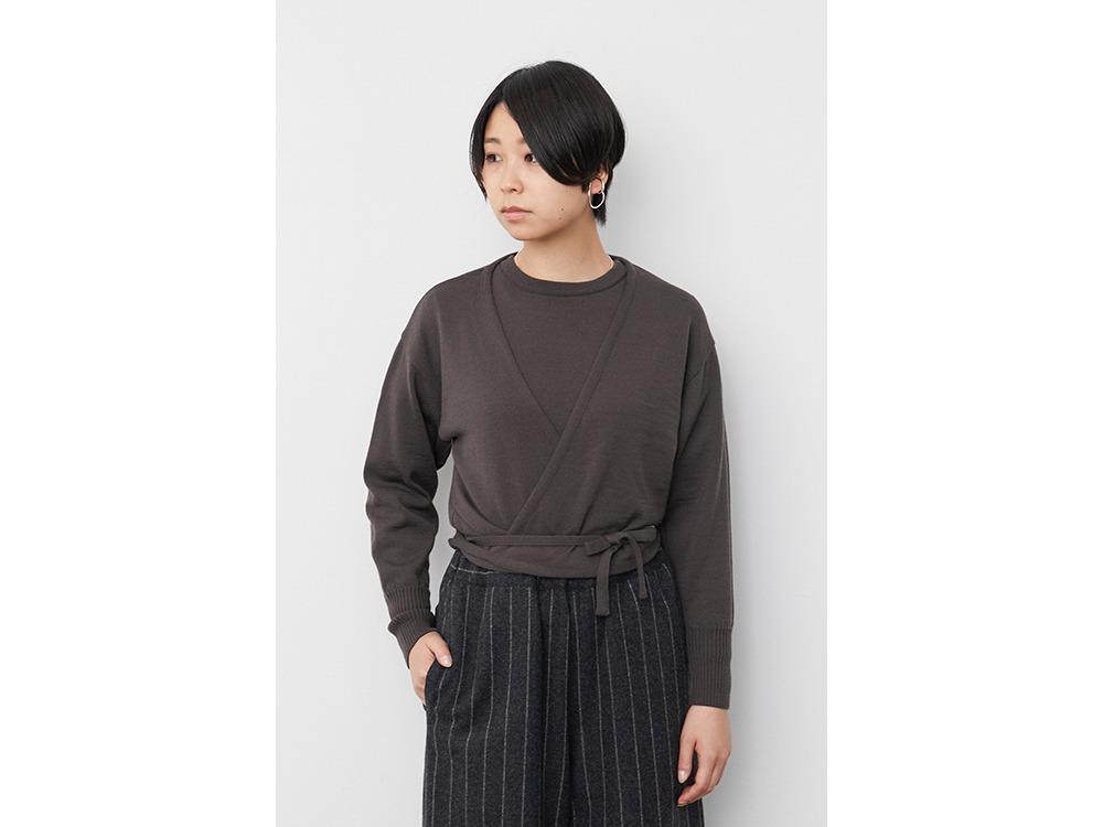 OG Wool Knit Cardigan 2 Beige