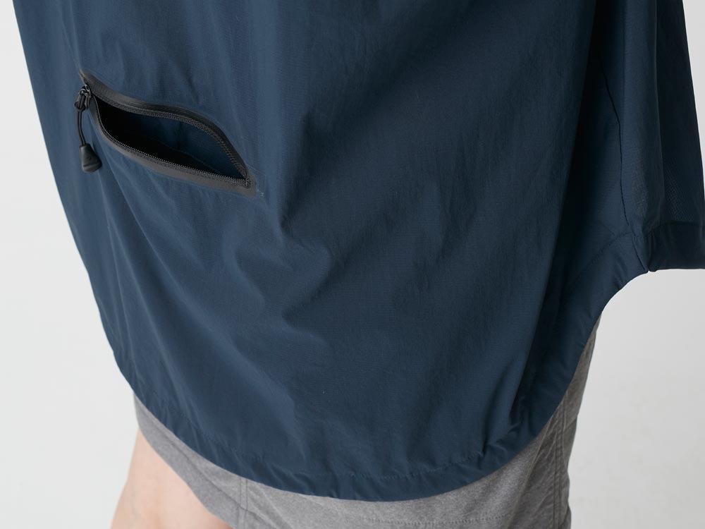 Rain&Wind Resistant Poncho XL Navy5