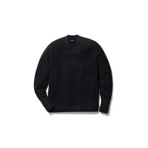 Waffle Mock Neck Sweater