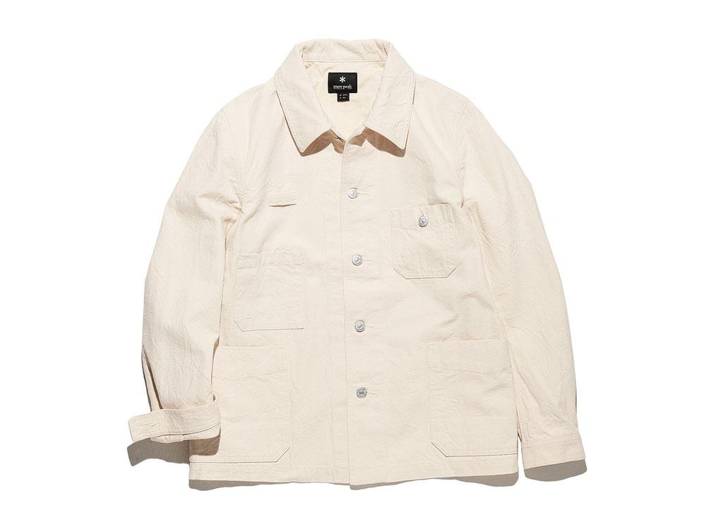 Okayama OX Work Jacket L Ecru0