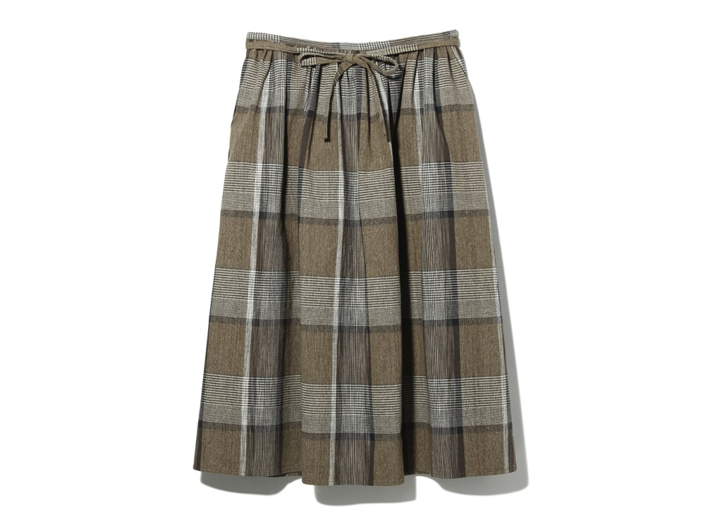 KASURI Skirt1Brown