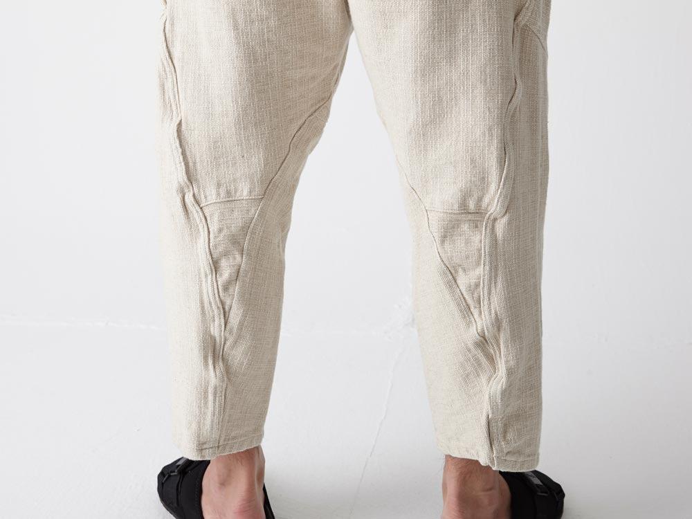 Linen HAORI Pants M Ecru4