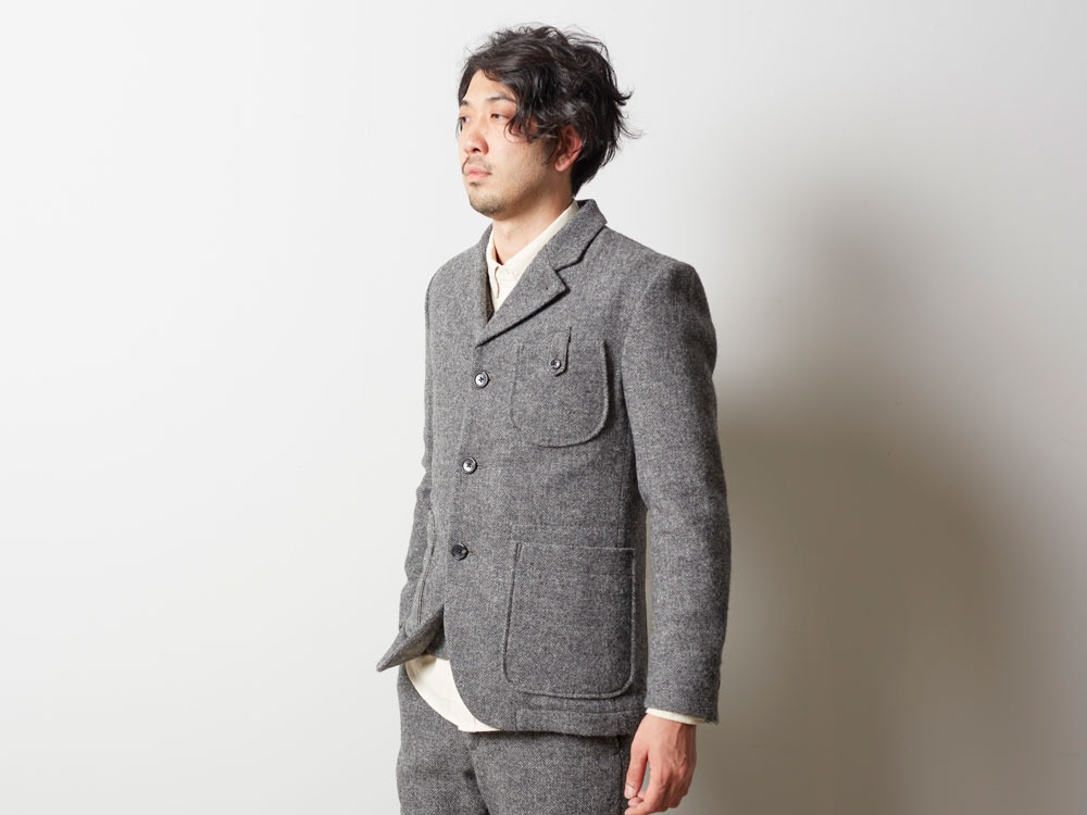 Camping Wool Jacket M Grey9