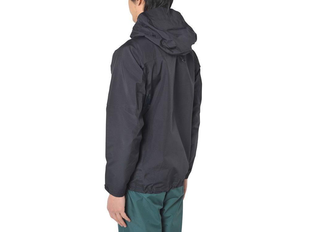3L Rain Jacket M Black2
